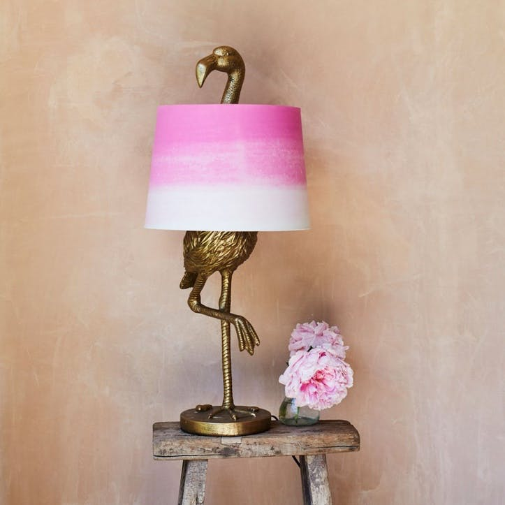 Flamingo Table Lamp, Gold