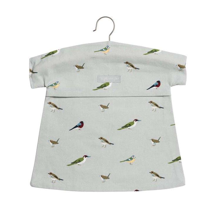 'Garden Birds' Peg Bag