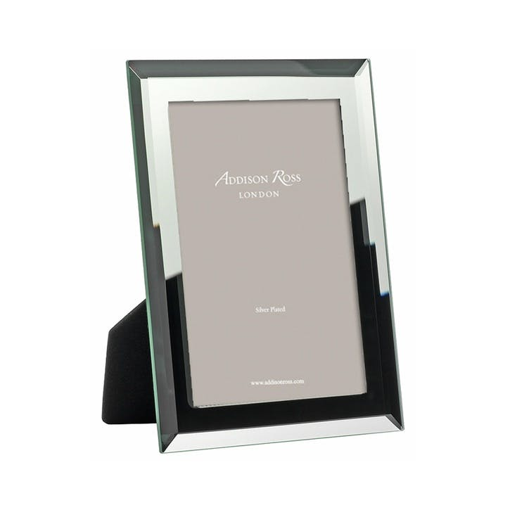 "Bevel Mirror Photo Frame - 4""x6"""