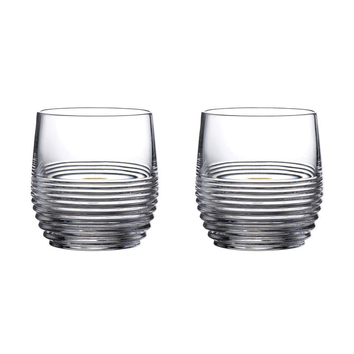 Mixology Rum Tumbler, Set of 2