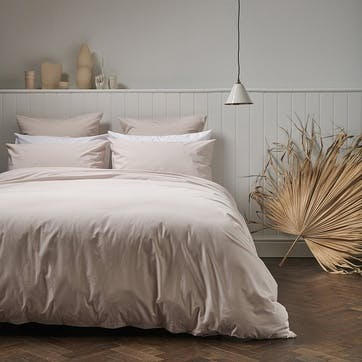 Classic Cotton Duvet Set, 260 x 220cm, Rose