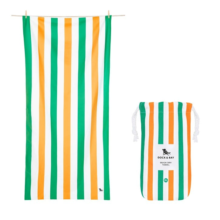 Summer Beach Towel; Lazy Afternoons; Extra Large