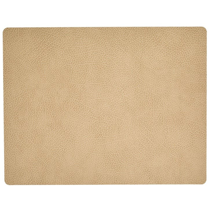 Rectangular Placemat, Set of 4, Hippo Sand