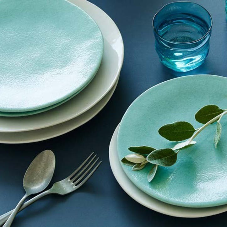 Mervyn Gers Teal Side Plate, 23cm