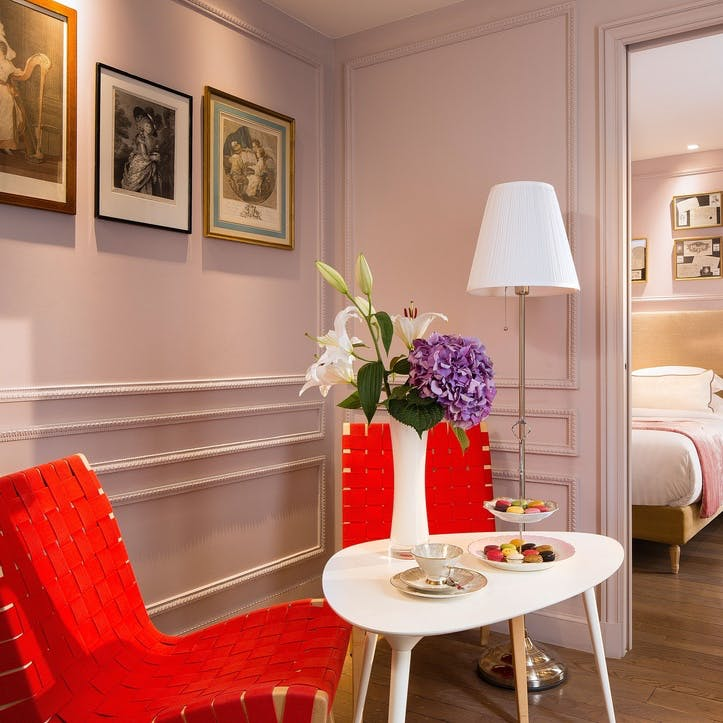 A voucher towards a stay at La Belle Juliette Hotel for two, Paris, France
