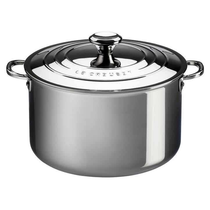 Signature Stainless Steel Deep Casserole With Lid - 20cm