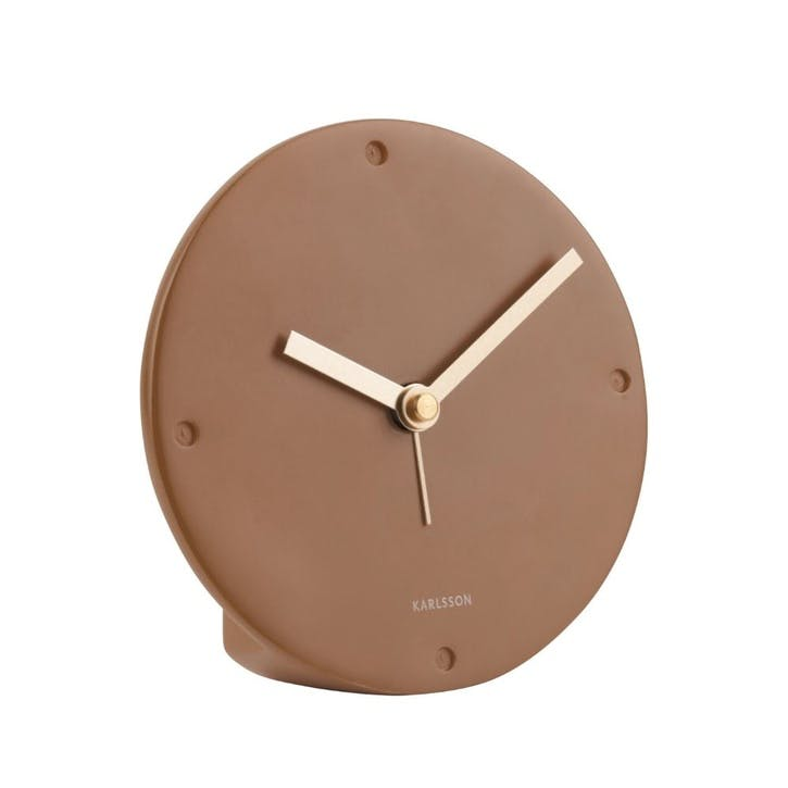Mantle Alarm Clock, Nude
