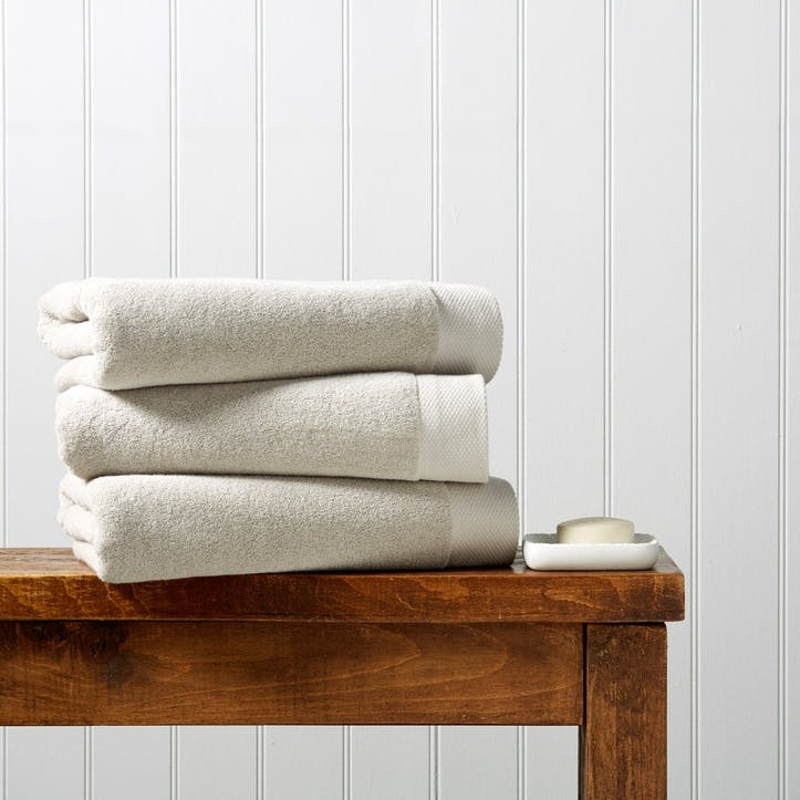 Luxe Hand Towel, French Grey