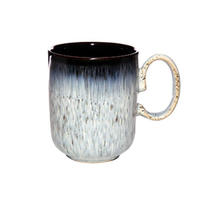 Halo Straight Mug, 300ml, Black/ Blue