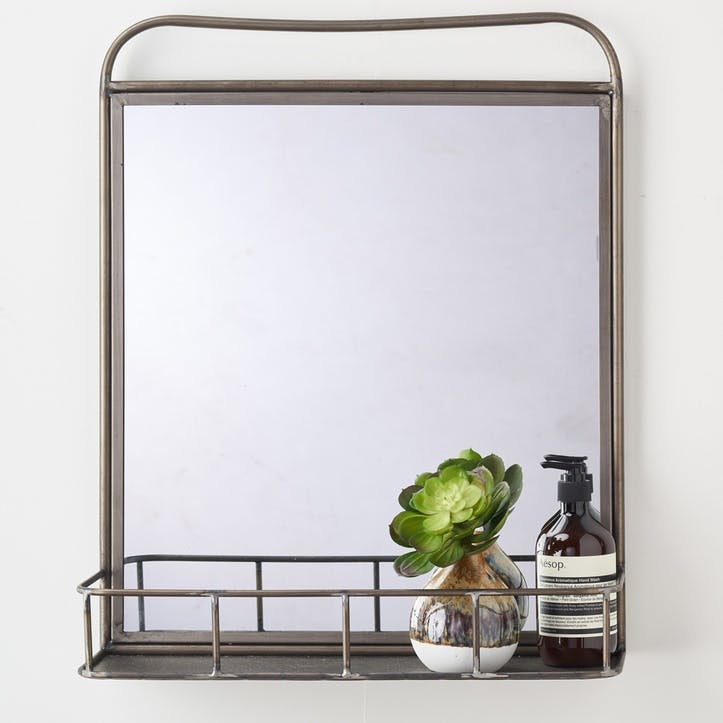 Industrial Metal Mirror