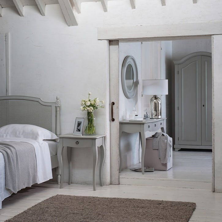 Provence Chest Of Drawers, Pale Grey