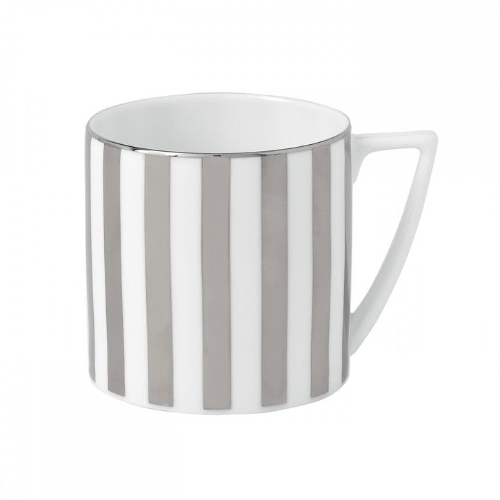 Platinum Striped Mug, Small