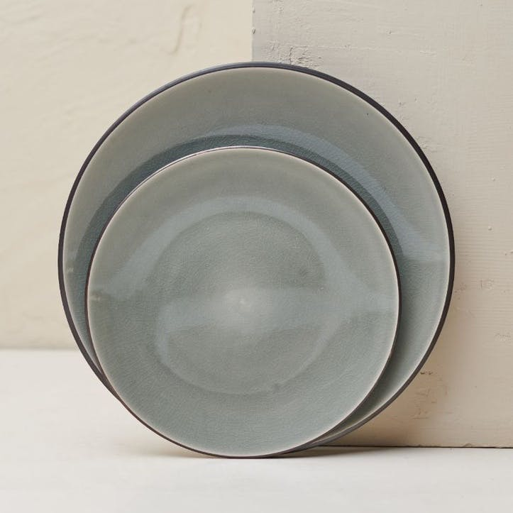 Bao Side Plate; Grey