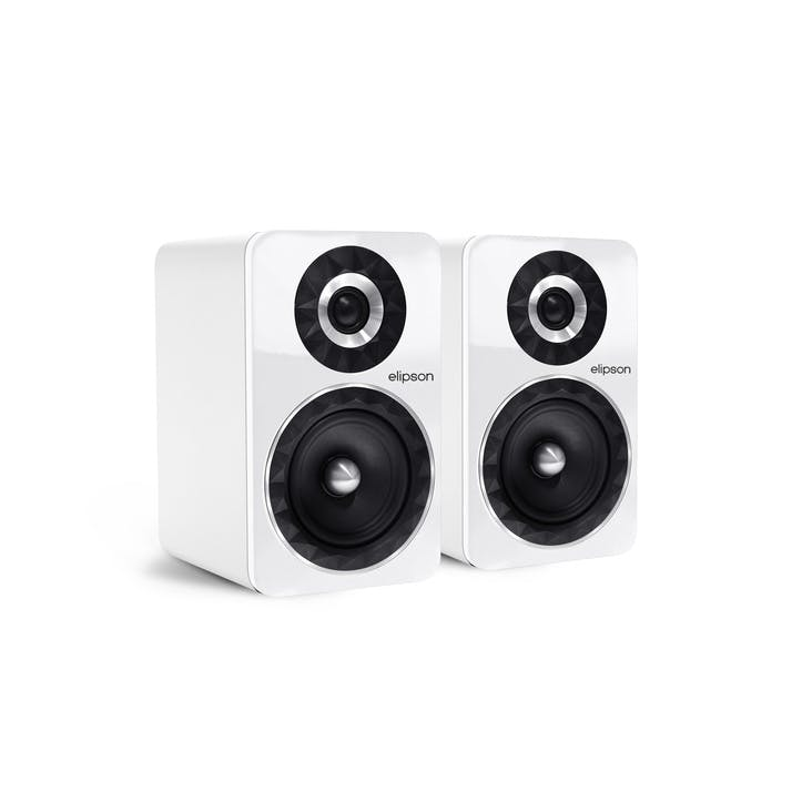 Prestige Facet PF6B Bluetooth Phono Speakers, White