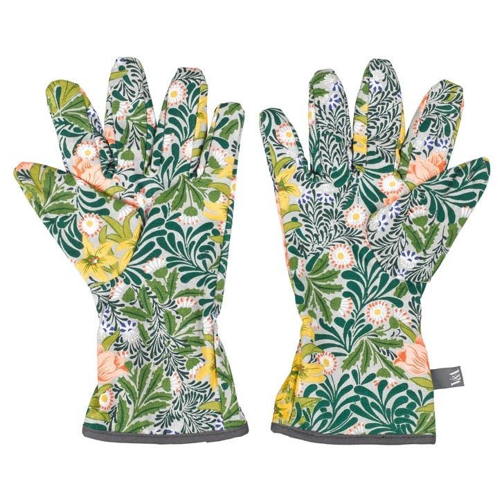 V&A William Morris Potting Gloves