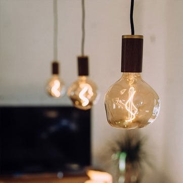 Voronoi I Tinted Bulb LED 2W 2200K E27 H18 x W13cm Clear