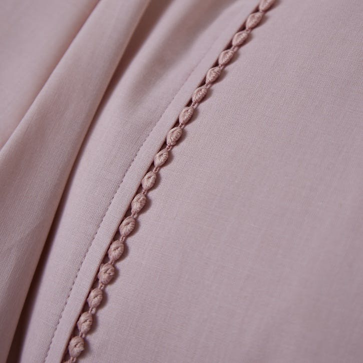 Pom Pom King Size Bedding Set, Pink