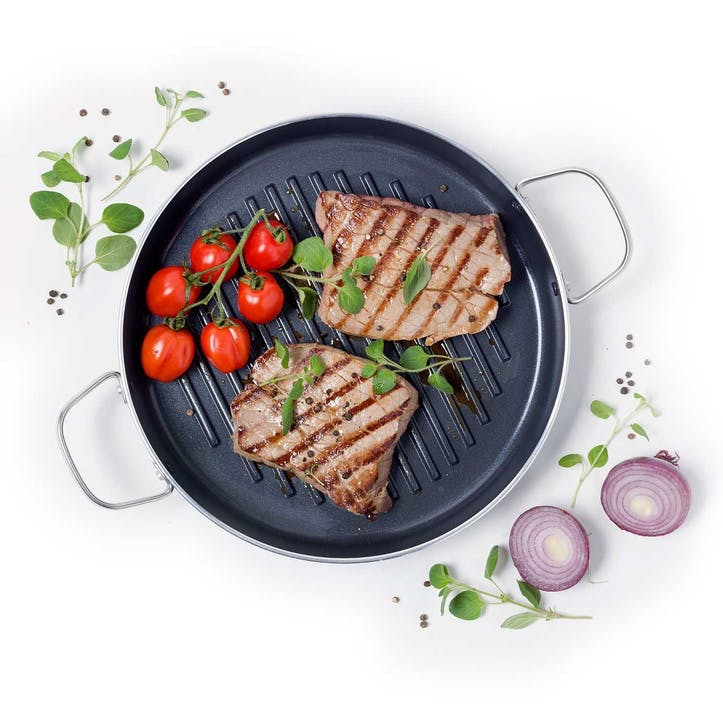 Essentials Round Grill Pan - 28cm