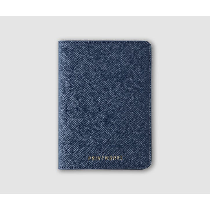 Passport Holder, Blue