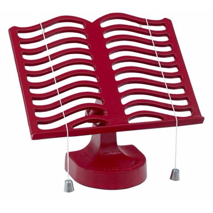 Cookbook Stand, Red