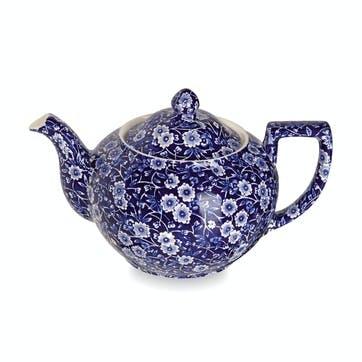 Calico Teapot, 1lt, Blue