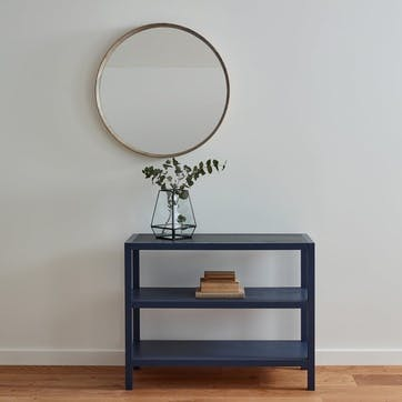 Olsen Round Mirror, Natural