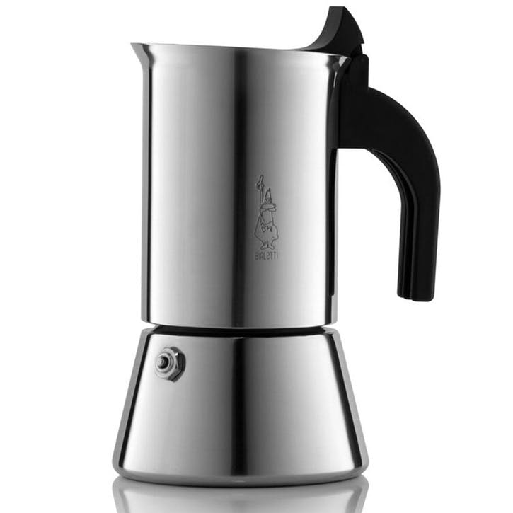 Venus Induction Stovetop Espresso Maker - 6 Cup