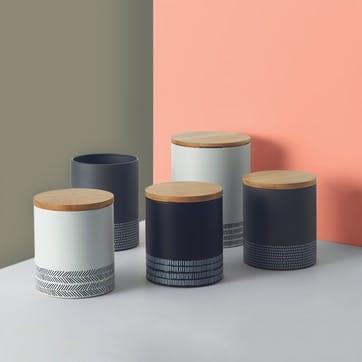 Monochrome Medium Storage Jar