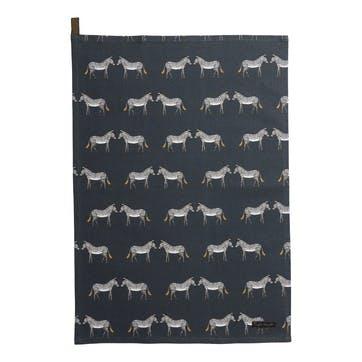 'Zebra' Tea Towel