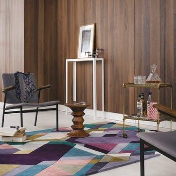 Mosaic, Rug, 170 x 240cm, Light Purple