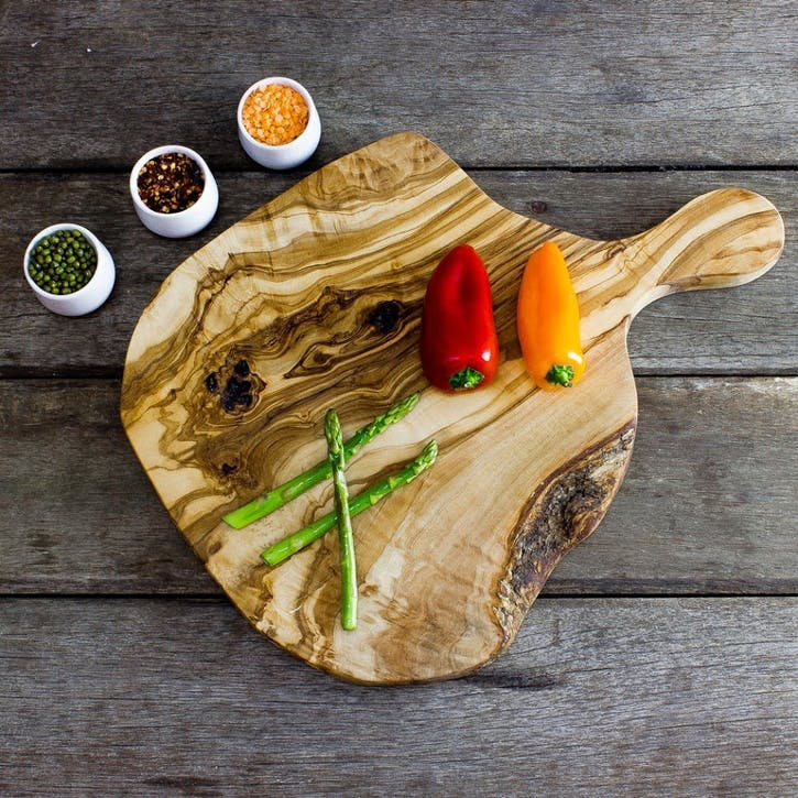 Wooden Handled Chopping Board - Large