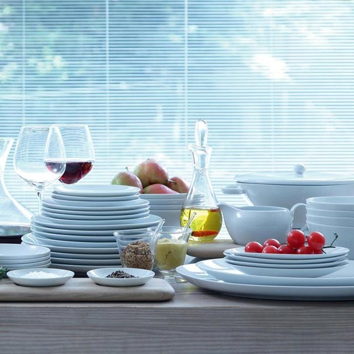LSA Dine Coupe Lunch/Breakfast Plate, Set of 4