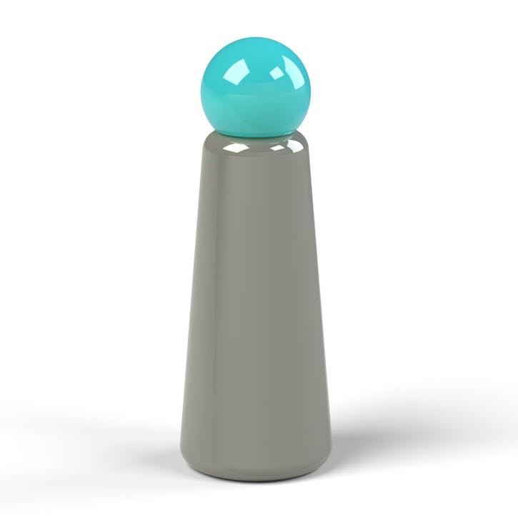 Skittle, Water Bottle, 500ml, Dark Grey & Sky Blue