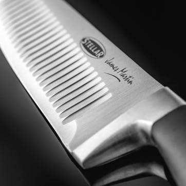 Scalloped Chef's Knife