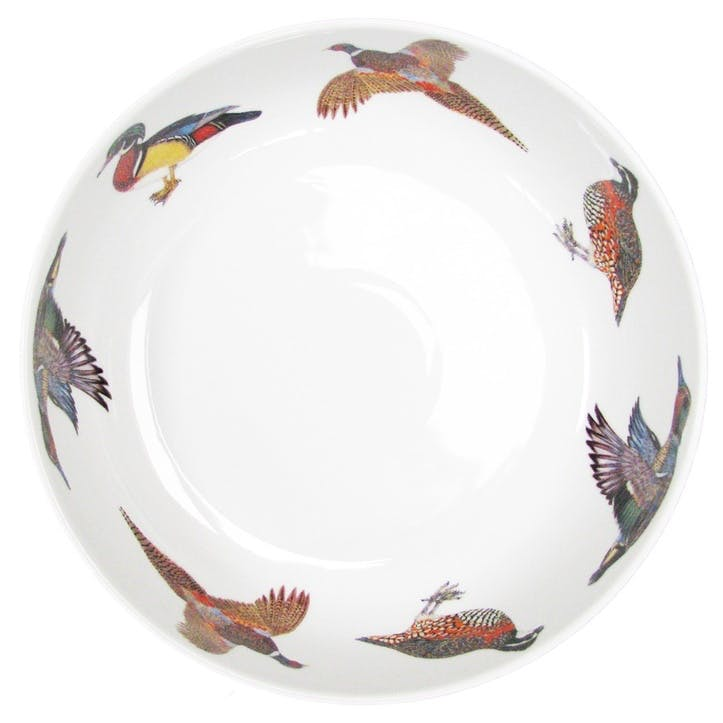 Gamebirds Round Bowl - 28cm