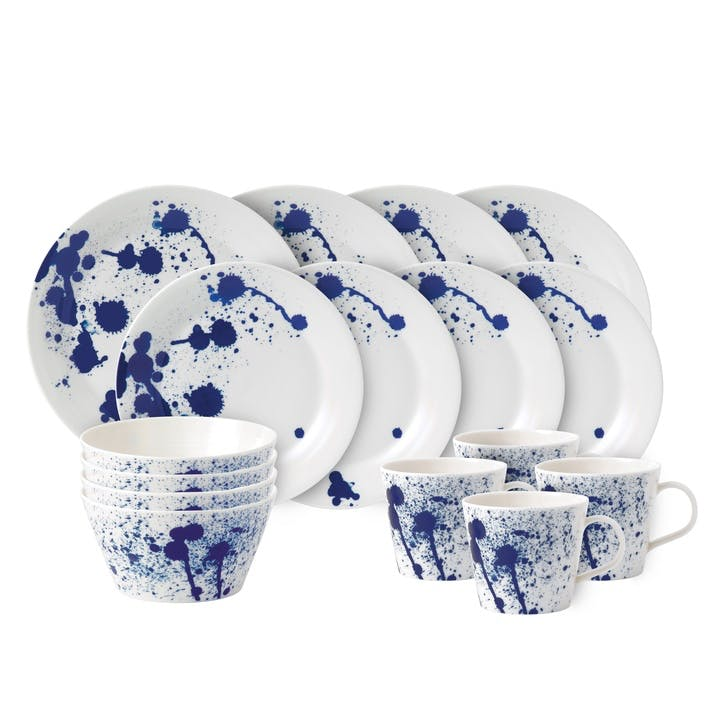 Pacific Splash Dinner Set, 16 Pieces