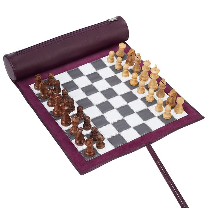 Large Travel Chess Set, Cyclamen