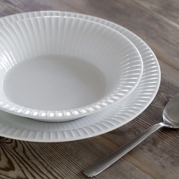 Hammershøi Deep Plate, 21cm, White