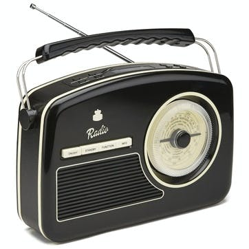 Rydell DAB Radio; Black & Cream