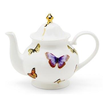 Urban Nature Butterflies Teapot, 2 Cup