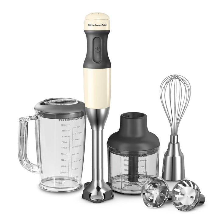5-speed Hand Blender Set, Almond Cream