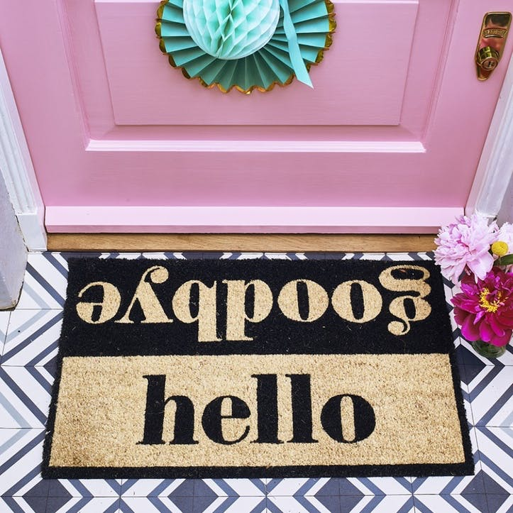 Hello Goodbye Doormat, 75 x 45cm