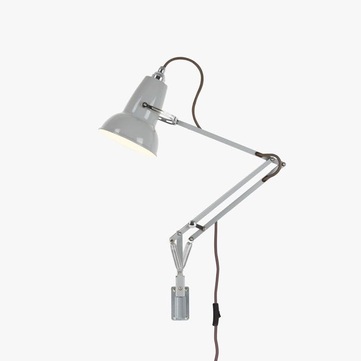 Mini Lamp with Wall Bracket Dove Grey
