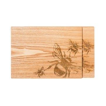 Bee Veneer Place Mat, Set of 2