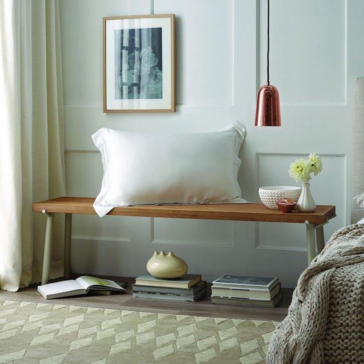 Lanham Tailored Single Pillowcase, Snow