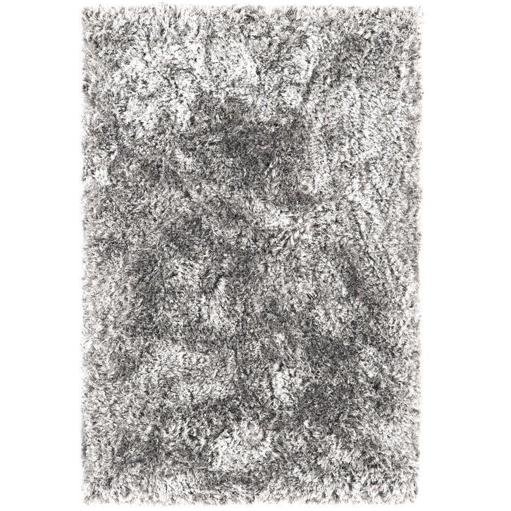 Plush Rug, 1.6 x 2.3m, Silver