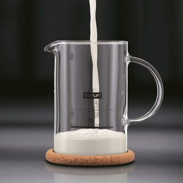 Latteo, Milk Frother, 25cl, Black