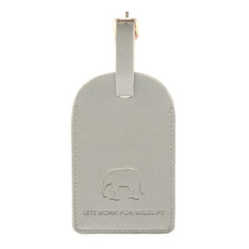 ZSL 'Elephant' Luggage Tag
