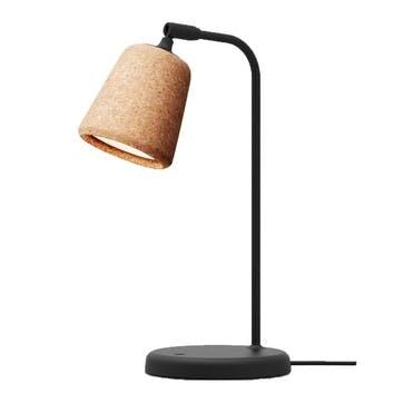 Material, Table lamp, W19 x D25cm, Natural Cork