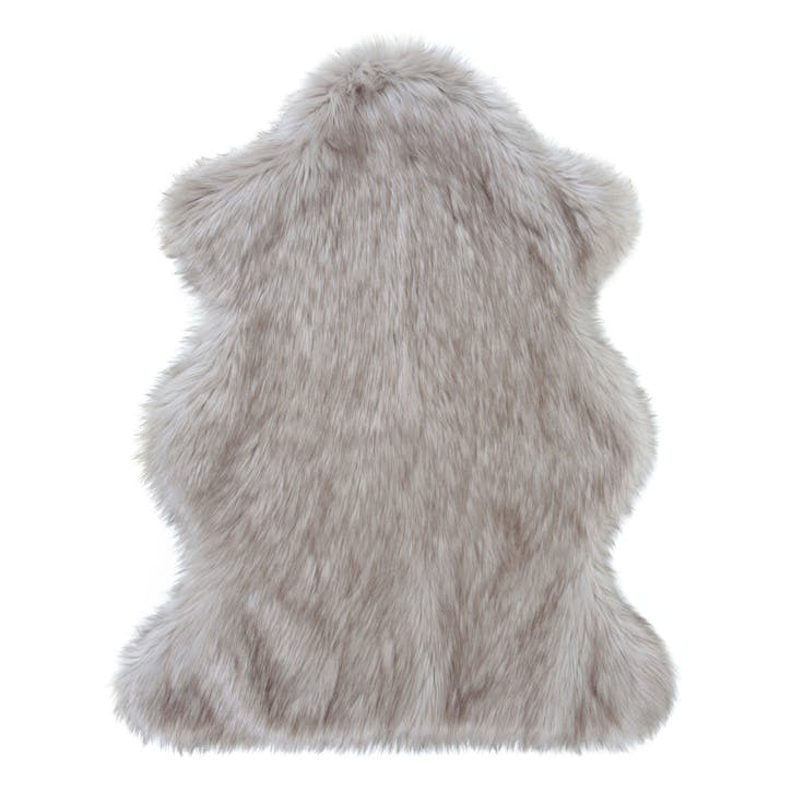 Oyster Faux Fur Rug